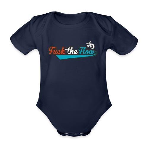 FUCK THE FLOW - Body ecologico per neonato a manica corta
