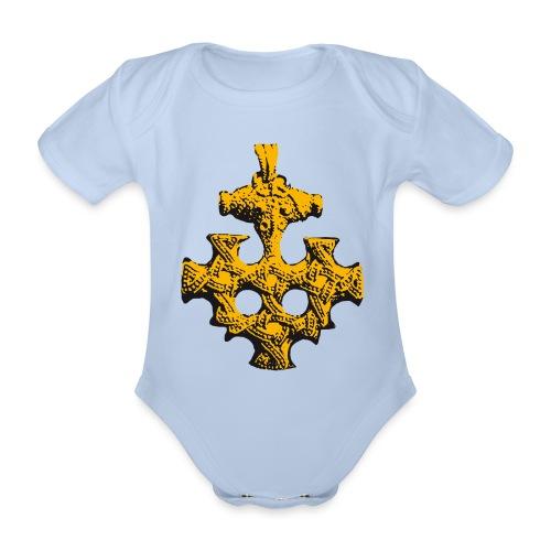 Goldschatz - Baby Bio-Kurzarm-Body
