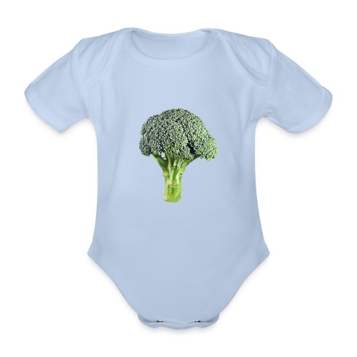 I'm in love with the Broco - Organic Short-sleeved Baby Bodysuit