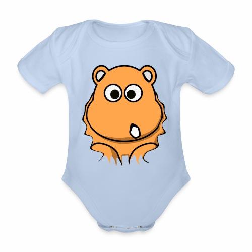 Nashorn - Baby Bio-Kurzarm-Body
