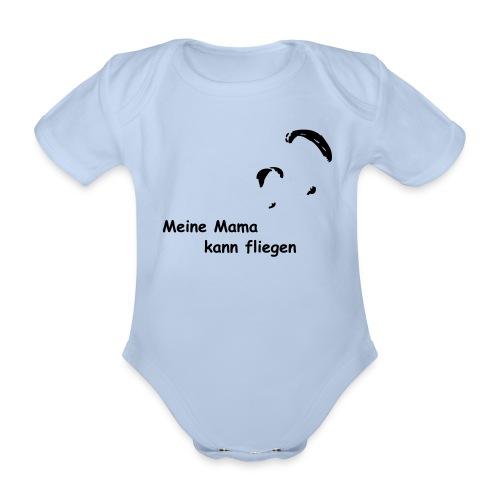 Mama fliegt - Baby Bio-Kurzarm-Body