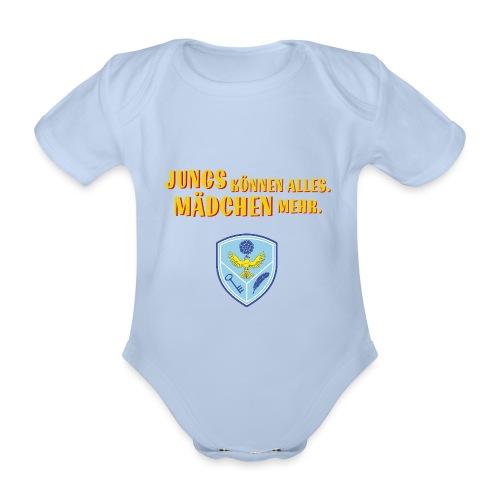 Rosenfels Wappen - Baby Bio-Kurzarm-Body