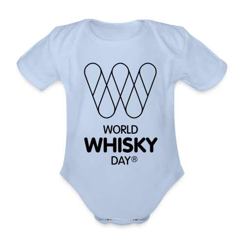 WWD logo - Organic Short-sleeved Baby Bodysuit