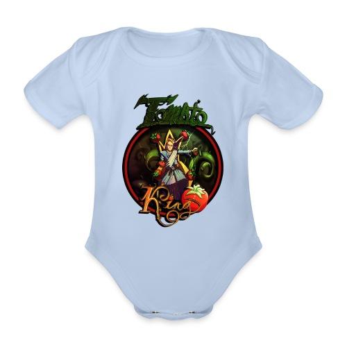 Tomato King - Twitch Back - Ekologisk kortärmad babybody