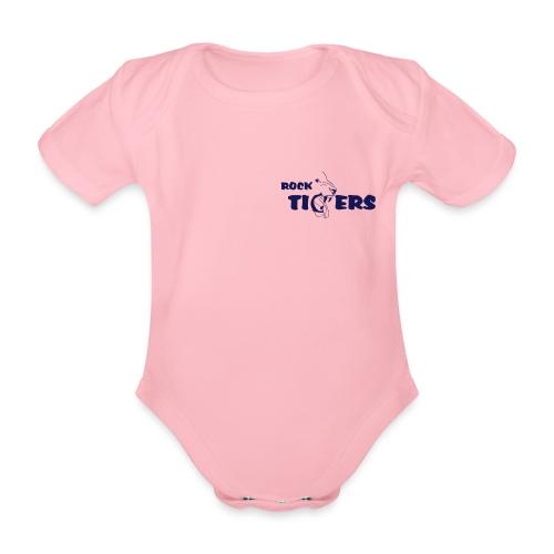 ROCK TIGERS groß - Baby Bio-Kurzarm-Body