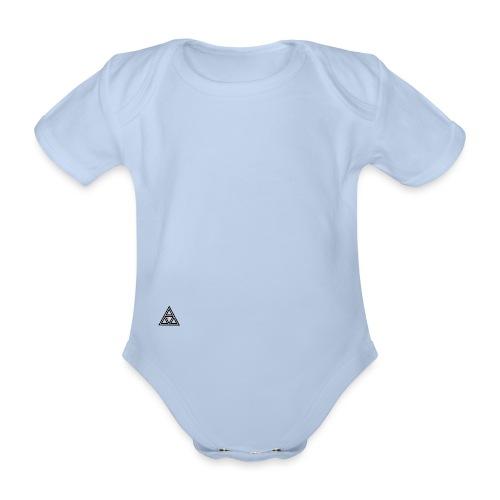 Never over - Organic Short-sleeved Baby Bodysuit