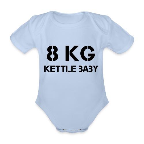 Kettlebaby v2 8kg - Ekologisk kortärmad babybody
