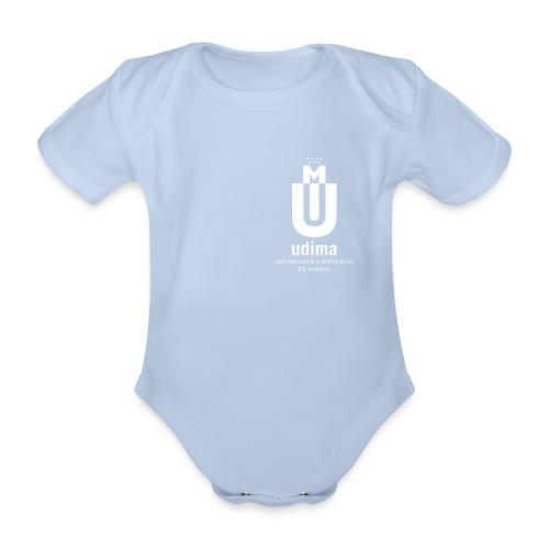 udi blanco vert png - Body orgánico de manga corta para bebé