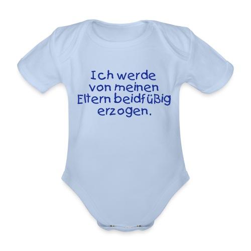 beidfuessig - Baby Bio-Kurzarm-Body