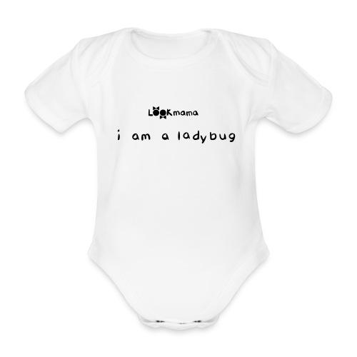 ladybugtypo - Baby Bio-Kurzarm-Body