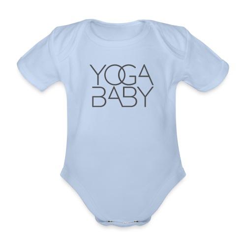 Yoga Baby Boy - Baby Bio-Kurzarm-Body
