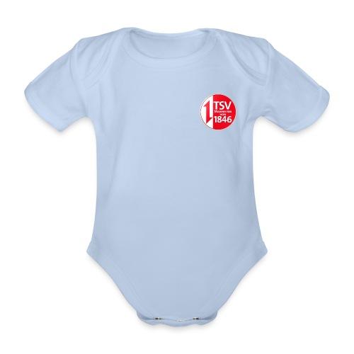 Rand um Logo - Baby Bio-Kurzarm-Body