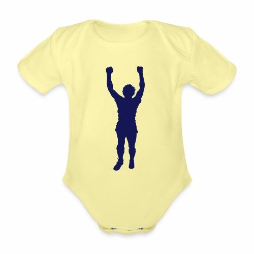 BILLY STATUE - Organic Short-sleeved Baby Bodysuit