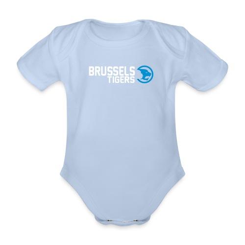 BrusselsTigers LogoWebsit - Organic Short-sleeved Baby Bodysuit