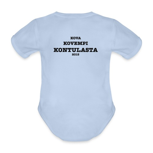 Kontula - Organic Short-sleeved Baby Bodysuit