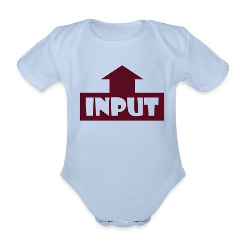 Input Output - Baby Bio-Kurzarm-Body