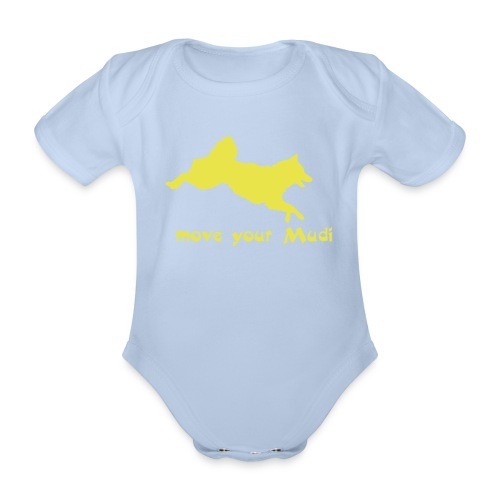 move your mudi - Organic Short-sleeved Baby Bodysuit
