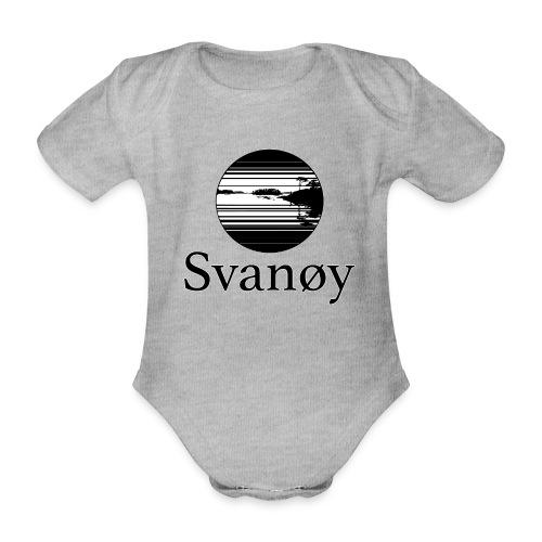Fyrstikk - Økologisk kortermet baby-body