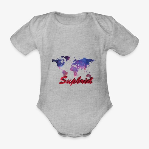 Supbrid Galaxy Edition - Baby Bio-Kurzarm-Body