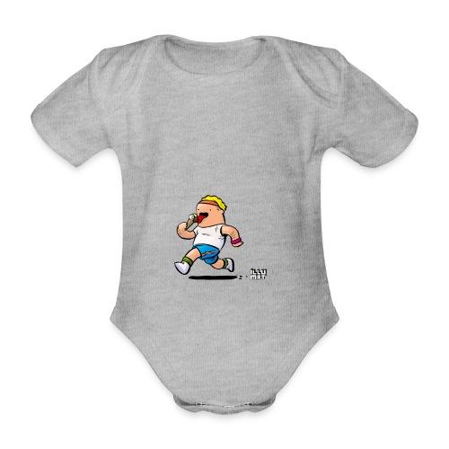 STE 0007 00 Eisdiaet - Baby Bio-Kurzarm-Body
