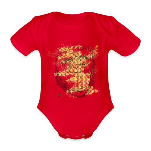 Scimpanzè color - Body ecologico per neonato a manica corta