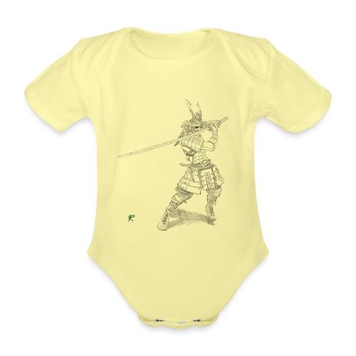 Samurai - Body ecologico per neonato a manica corta