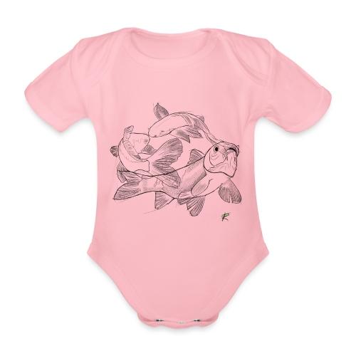 Carpa koi - Body ecologico per neonato a manica corta