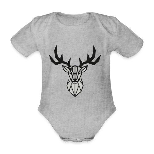 Hirsch - Hirsch - Hirsch - Baby Bio-Kurzarm-Body
