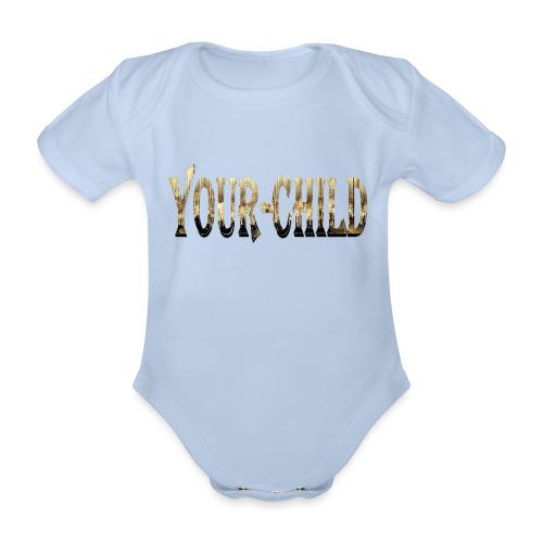 Your-Child - Kortærmet babybody, økologisk bomuld