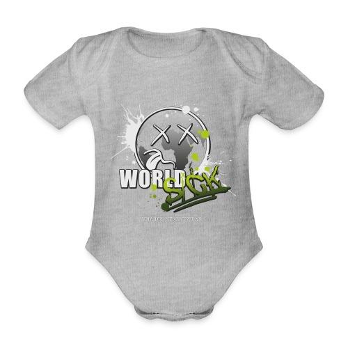 world sick - Baby Bio-Kurzarm-Body