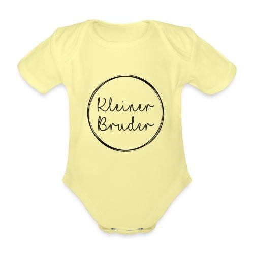 Kleiner Bruder Babybody - Baby Bio-Kurzarm-Body