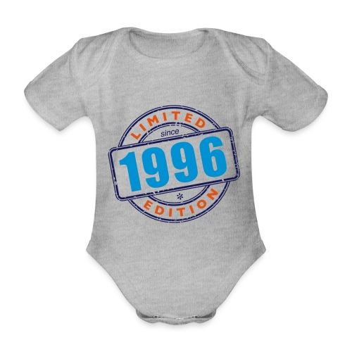 LIMITED EDITION SINCE 1996 - Baby Bio-Kurzarm-Body