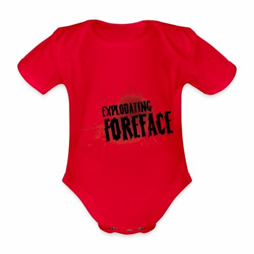 Eplodating Foreface - Organic Short-sleeved Baby Bodysuit