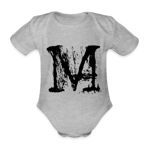 M - Body ecologico per neonato a manica corta