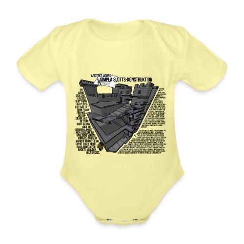 Jacobs Slott - Ekologisk kortärmad babybody