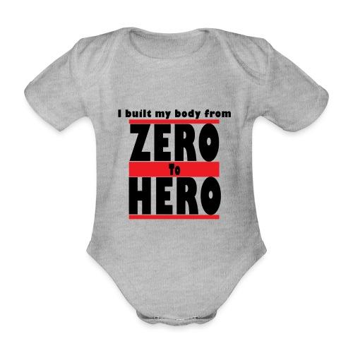 Zero To Hero - Vauvan lyhythihainen luomu-body
