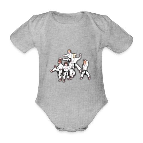 Karate - Organic Short-sleeved Baby Bodysuit