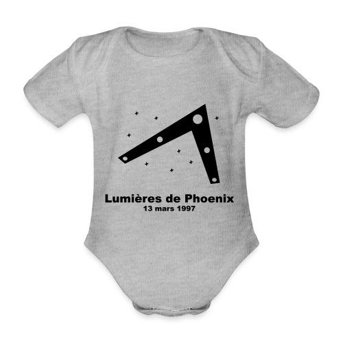 OVNI Lumieres de Phoenix - Body Bébé bio manches courtes