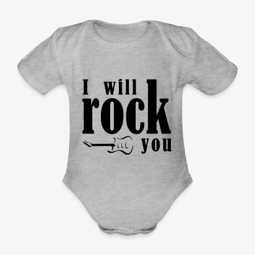 I will rock you - Body ecologico per neonato a manica corta