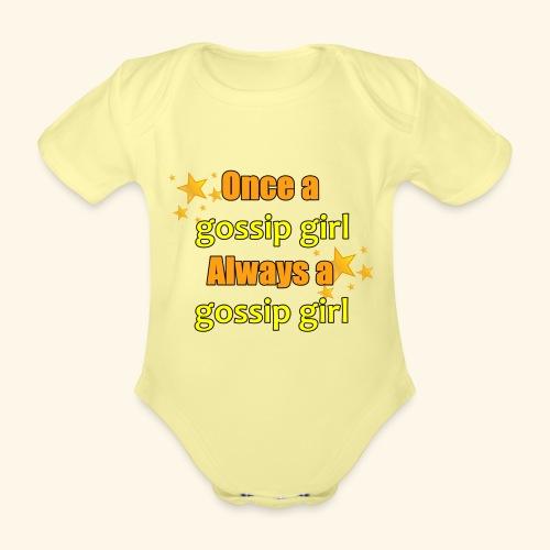 Gossip Girl Gossip Girl Shirts - Organic Short-sleeved Baby Bodysuit
