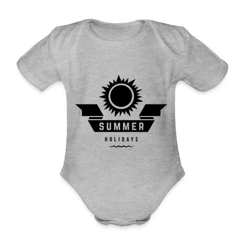 Summer holidays - Vauvan lyhythihainen luomu-body
