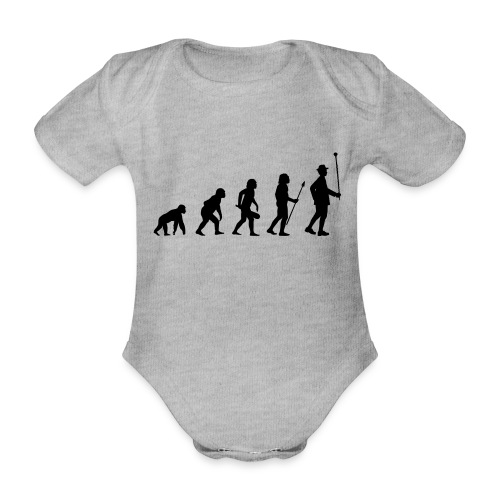 Stabführer Evolution - Baby Bio-Kurzarm-Body