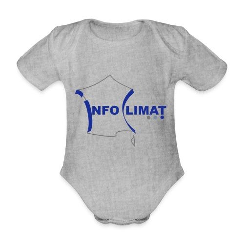logo simplifié - Body Bébé bio manches courtes