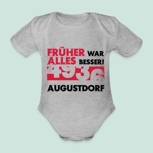 Früher 4936 Augustdorf - Baby Bio-Kurzarm-Body