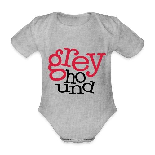 GrEyHoUnD - Body Bébé bio manches courtes