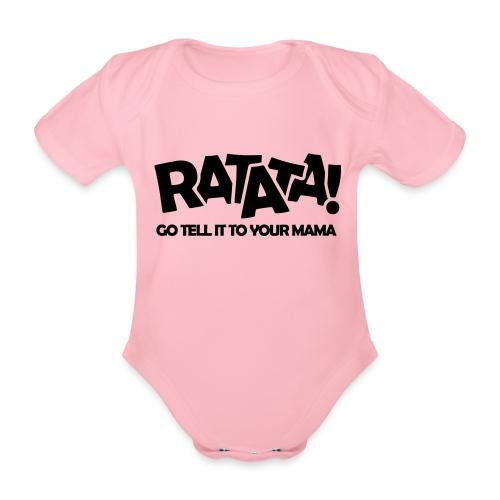 RATATA full - Baby Bio-Kurzarm-Body
