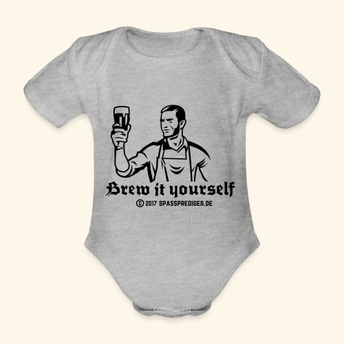 Brew it yourself - Baby Bio-Kurzarm-Body