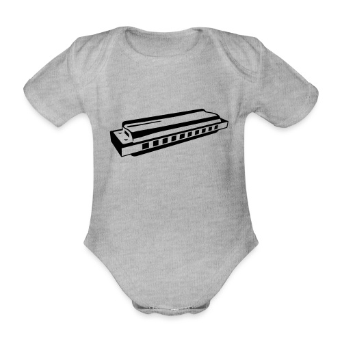 Harmonica - Organic Short-sleeved Baby Bodysuit