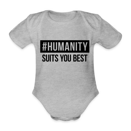 women's Premium T-Shirt #humanity - Baby Bio-Kurzarm-Body