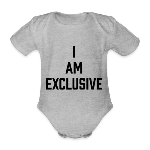 I am Exclusive - Baby Bio-Kurzarm-Body